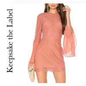 NWTKeepsake the Label Be The One Dress in Cinnamon